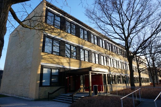 校園四處都是一排排的這款建築