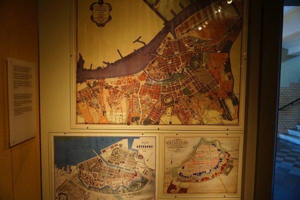 1861年的哥德堡地圖