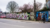 Christiania外的圍牆