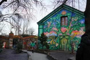 Christiania主入口