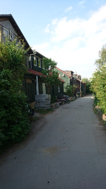 Christiania的簡單住房